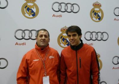 En la imagen con Kaká