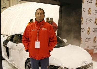Acto de entrega de Audi a los futbolistas del Real Madrid en Xanadú